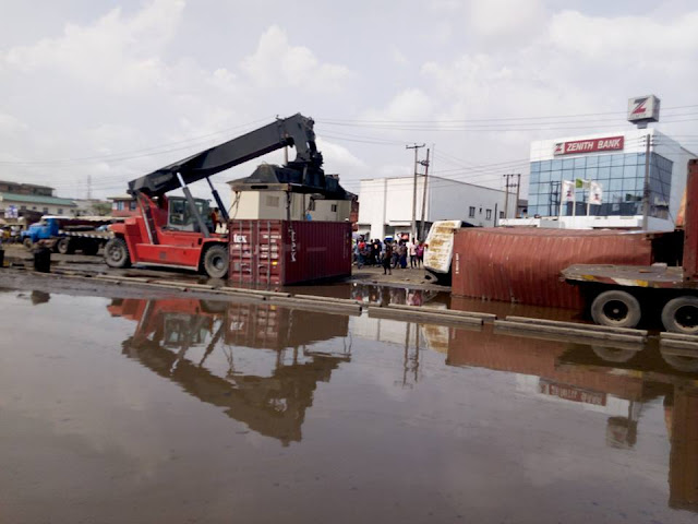 The true state of Apapa Wharf Road (Photos and Video)