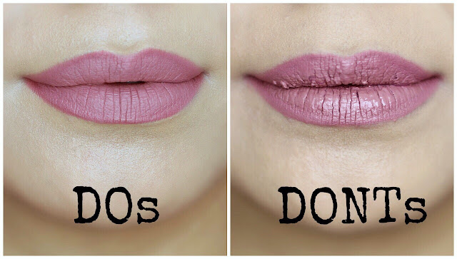 Liquid Lipstick Mistakes to Avoid | Do's and Dont's
