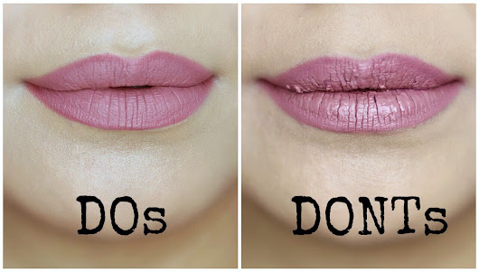 Liquid Lipstick Do's and Dont's