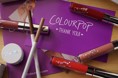 Colourpop Cosmetics Haul Liquid Lipstick Ultra Satin Gel Liner Brown Pencil