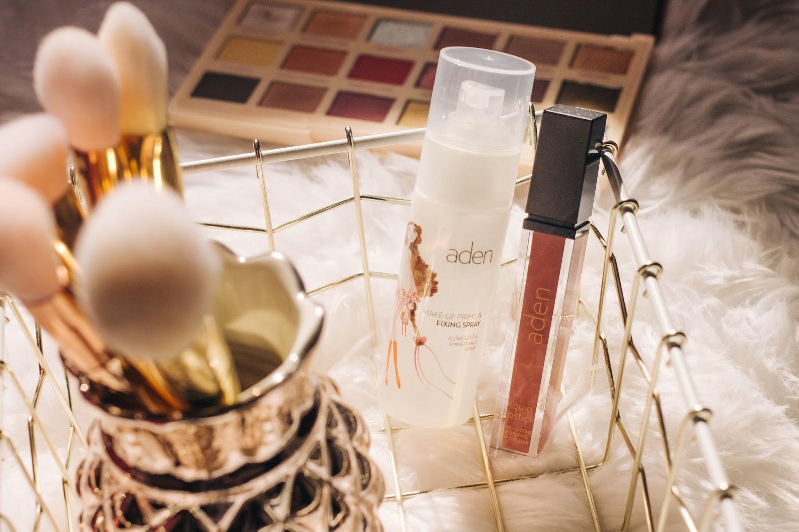 A Aden Cosmetics não é uma marca novidade no mercado, mas é novidade para mim. Na verdade, já a conhecia, mas só recentemente tive oportunidade de experimentar dois produtos. O batom foi-me oferecido pela minha amiga Rute (que tem um blog/canal, espreitem!) e o primer/fixador em spray foi-me enviado pela marca. A Aden Cosmetics é uma empresa do Reino Unido e está presente em Portugal (com sede em Leiria, na KN Concept, e vários pontos de venda espalhados pelo país). Os produtos são produzidos em Itália e Alemanha, e não são testados em animais.    A Aden é cruelty-free.