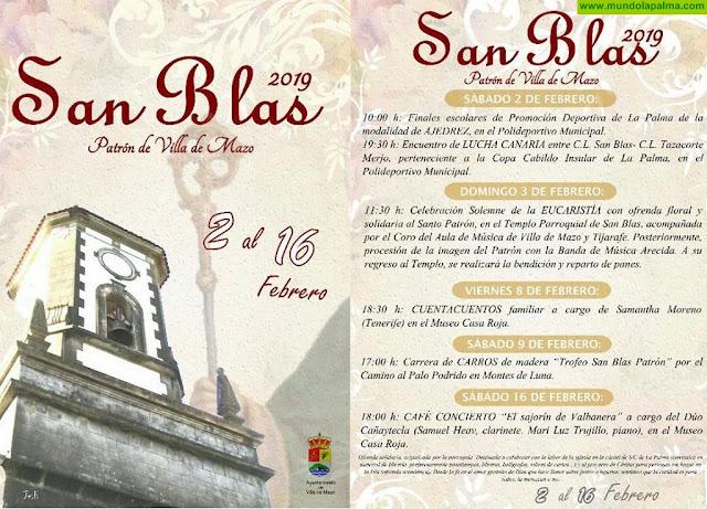 Fiestas de San Blas Patrón de Villa de Mazo 2019 - Programa