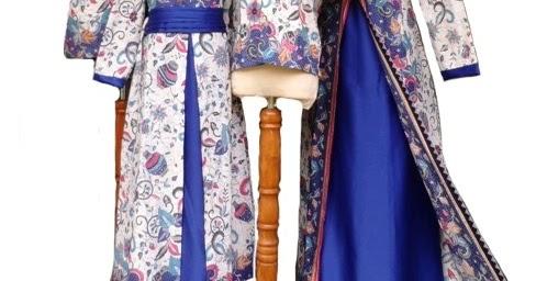 15 Model Baju Batik Keluarga Seragam Pernikahan Terbaru