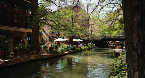 San Antonio River Walk Texas