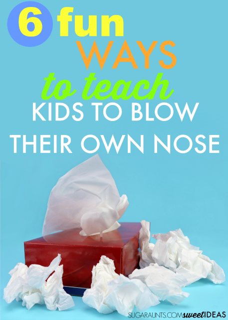 How to teach kids to blow their nose
