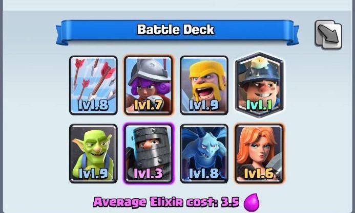 legendary arena deck