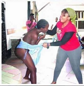 Wife Caught 17-Year-Old Girl With Her Husband In Bed, Stripped & Beat Her Up