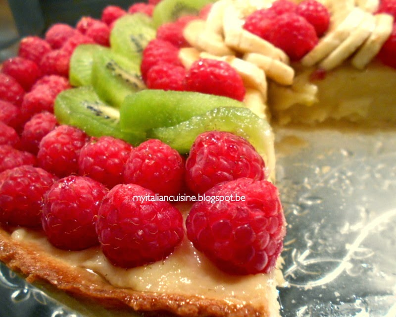 Italian Fruit Cake Recipes: My Italian Cuisine: Fruit Tart