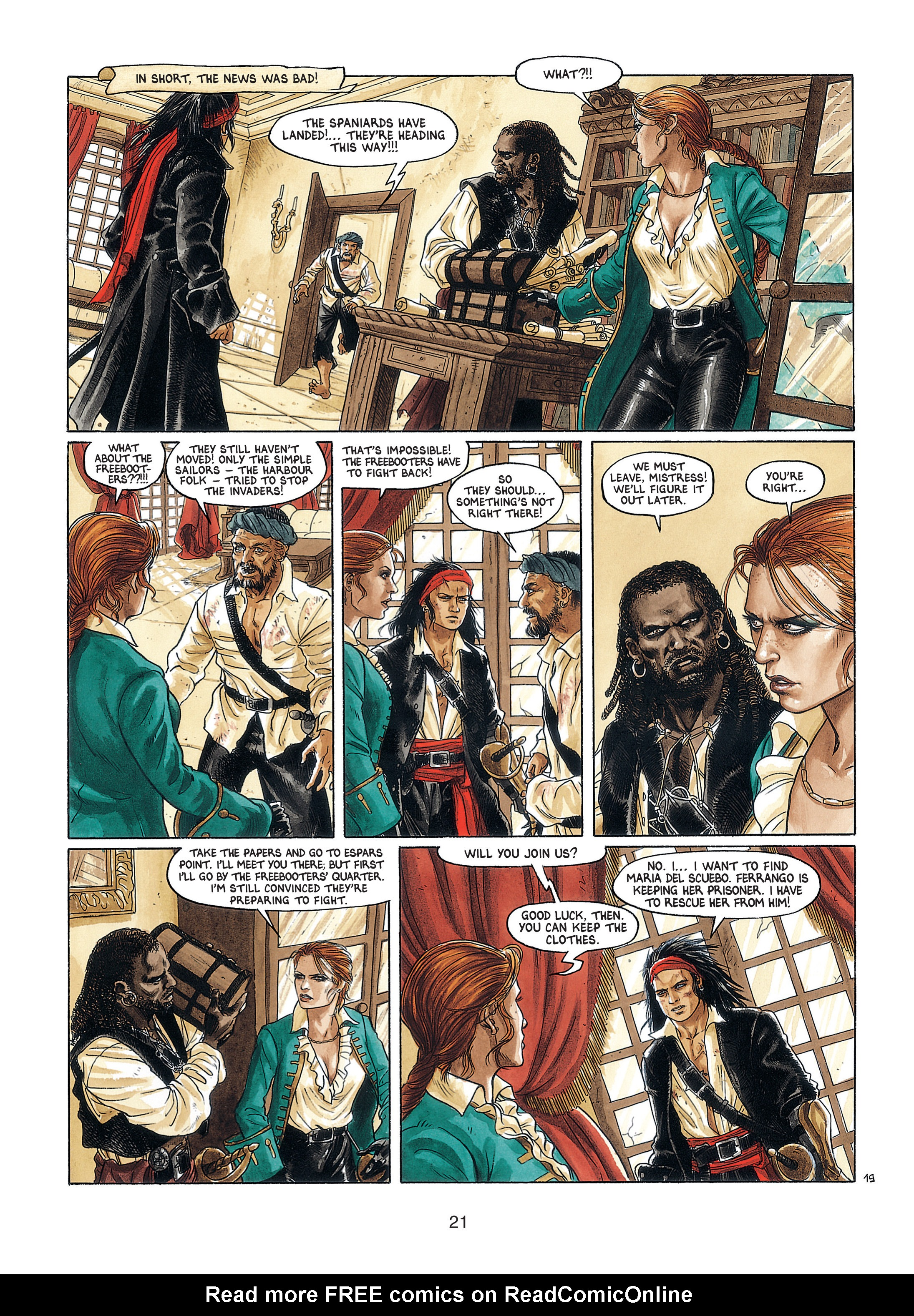 Read online Barracuda comic -  Issue #4 - 22