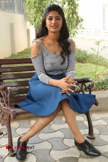 Telugu Actress Roshini Prakash Stills Short Dress at Saptagiri Express Release Press Meet  0201.JPG