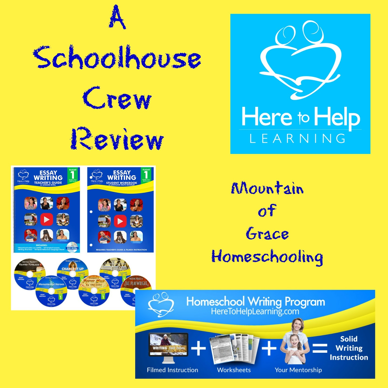 mountain of grace homeschooling tos review here to help learning homeschool writing program