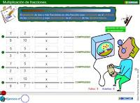 http://www3.gobiernodecanarias.org/medusa/eltanquematematico/todo_mate/fracciones_e/ejercicios/multiplicacion_p.html