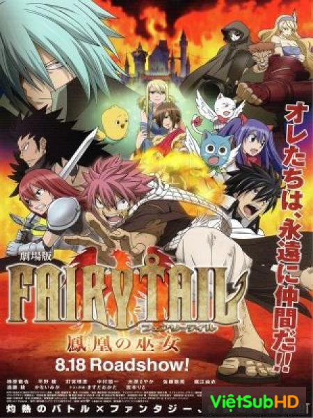 Fairy Tail Houou No Miko BD Movie