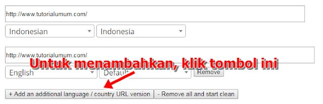 Cara Memasang Tag Atribut Hreflang Blog Bahasa Indonesia yang Benar