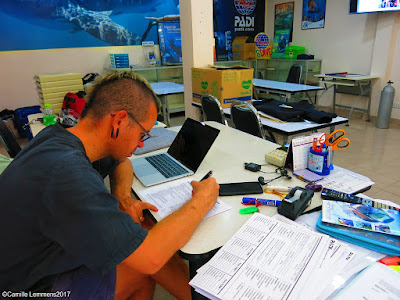 PADI IDC Staff Instructor course on Phuket, Thailand in December 2017