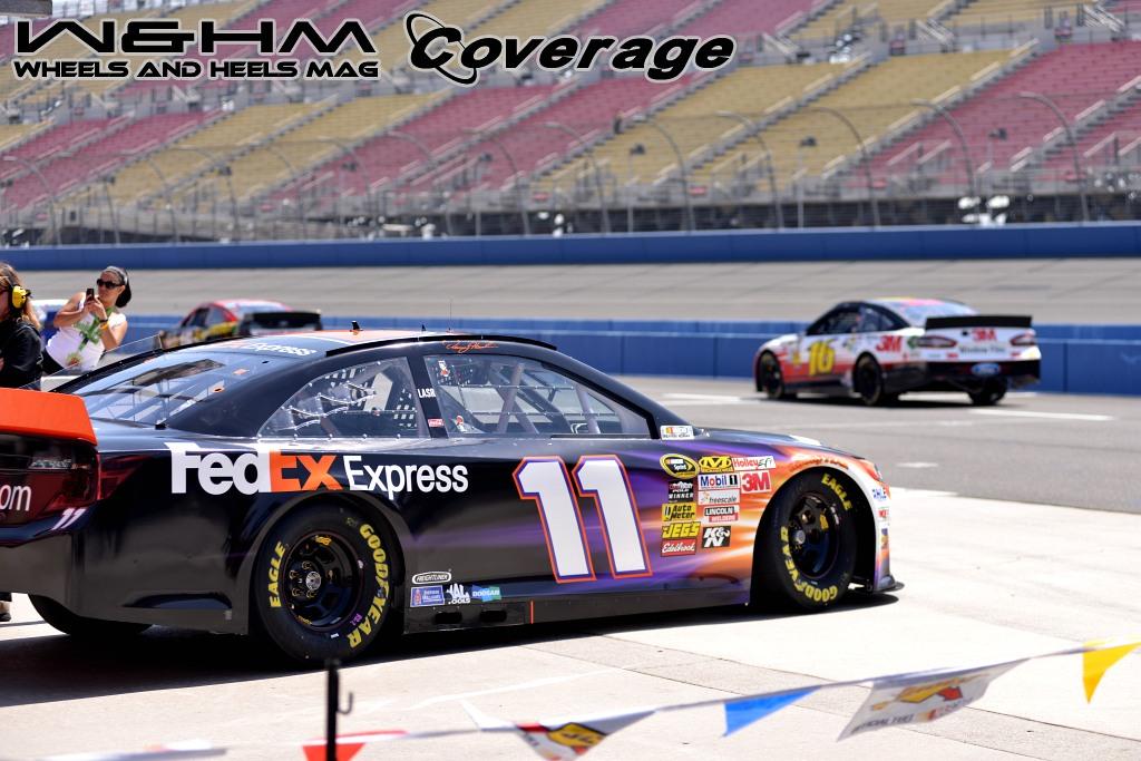 2013 #NASCAR Royal Purple 300 Pre-Race Part 2