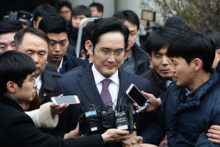 Samsung chief Lee Jae-yong arrested on charges of bribery