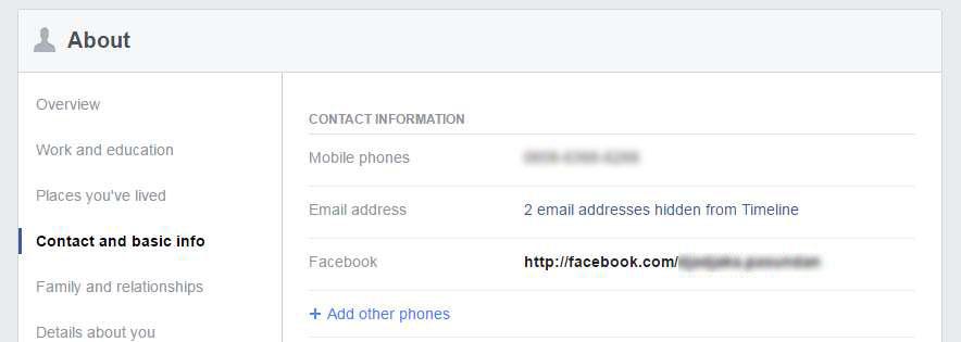5 Informasi Sensitif Yang Sebaiknya Disembunyikan di Akun Facebook