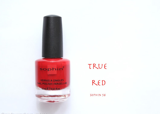Perfect Red - Sophin 58