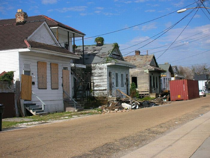 Deroucicho Abandoned Houses In New Orleans Louisiana