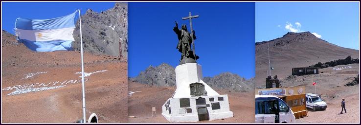 Cristo Redentor - Limite entre Argentina y Chile - 3.854 MSNM - Las Heras - MENDOZA