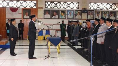 Pejabat di Kotabaru Kembali Bergeser Posisi, 269 Orang Dilantik