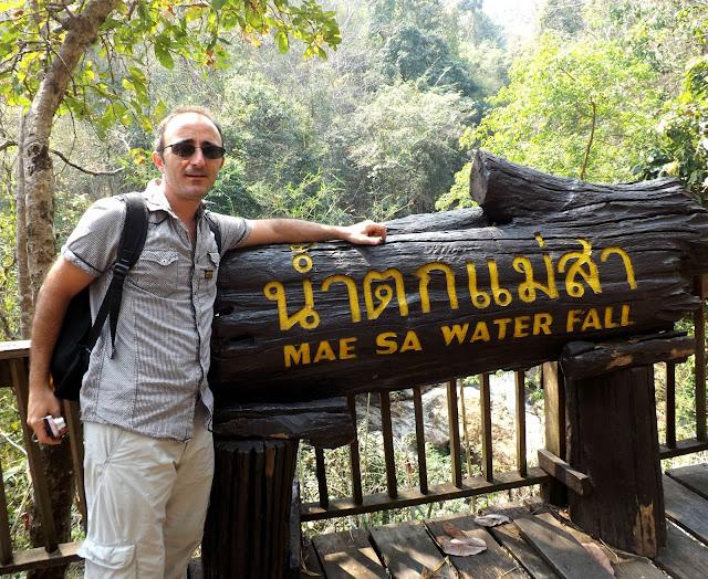 Thailande, chiang mai, cascade