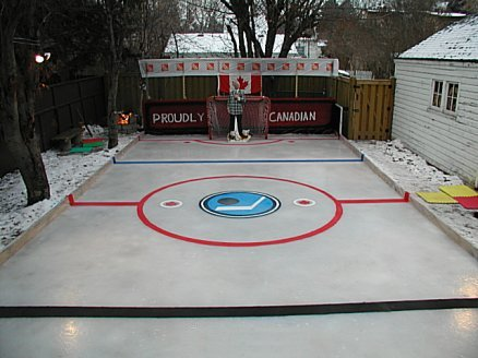 Local Big Time: Best Backyard Hockey Rinks