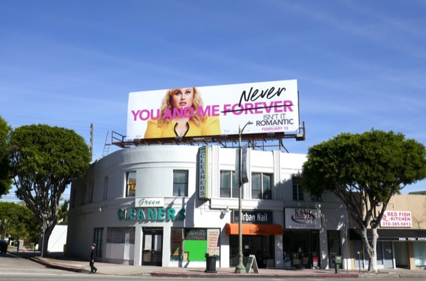 You me never Isnt It Romantic billboard