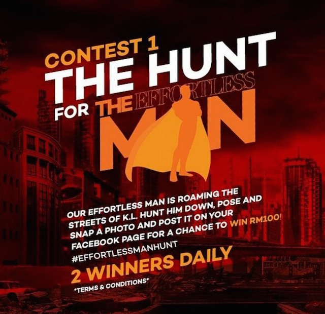 Contest 1: The Hunt for The EffortlessMan