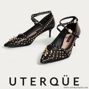 Queen Letizia wore Uterqüe Salon Shoes