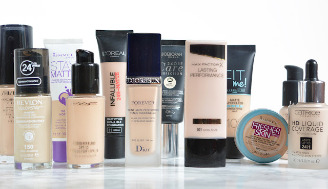 My Foundation Collection (combination/oily skin)