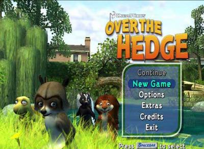 森林保衛戰(Over The Hedge),可愛的童話動作冒險遊戲!