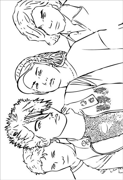 high school printable coloring pages - photo#6