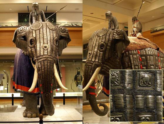 gajah perang india
