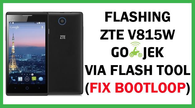 Flashing ZTE V815 Fix Bootloop