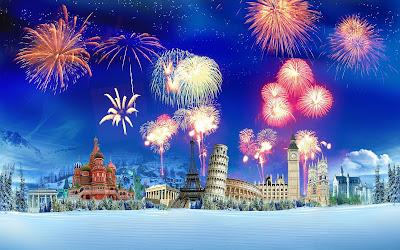 Happy New Year 2017 Fireworks Pics