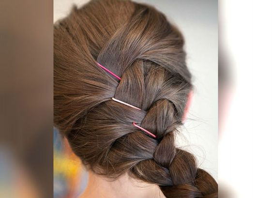 Awe Inspiring 10 Fun And Cute Hairstyles With Bobby Pins Bling Sparkle Short Hairstyles For Black Women Fulllsitofus