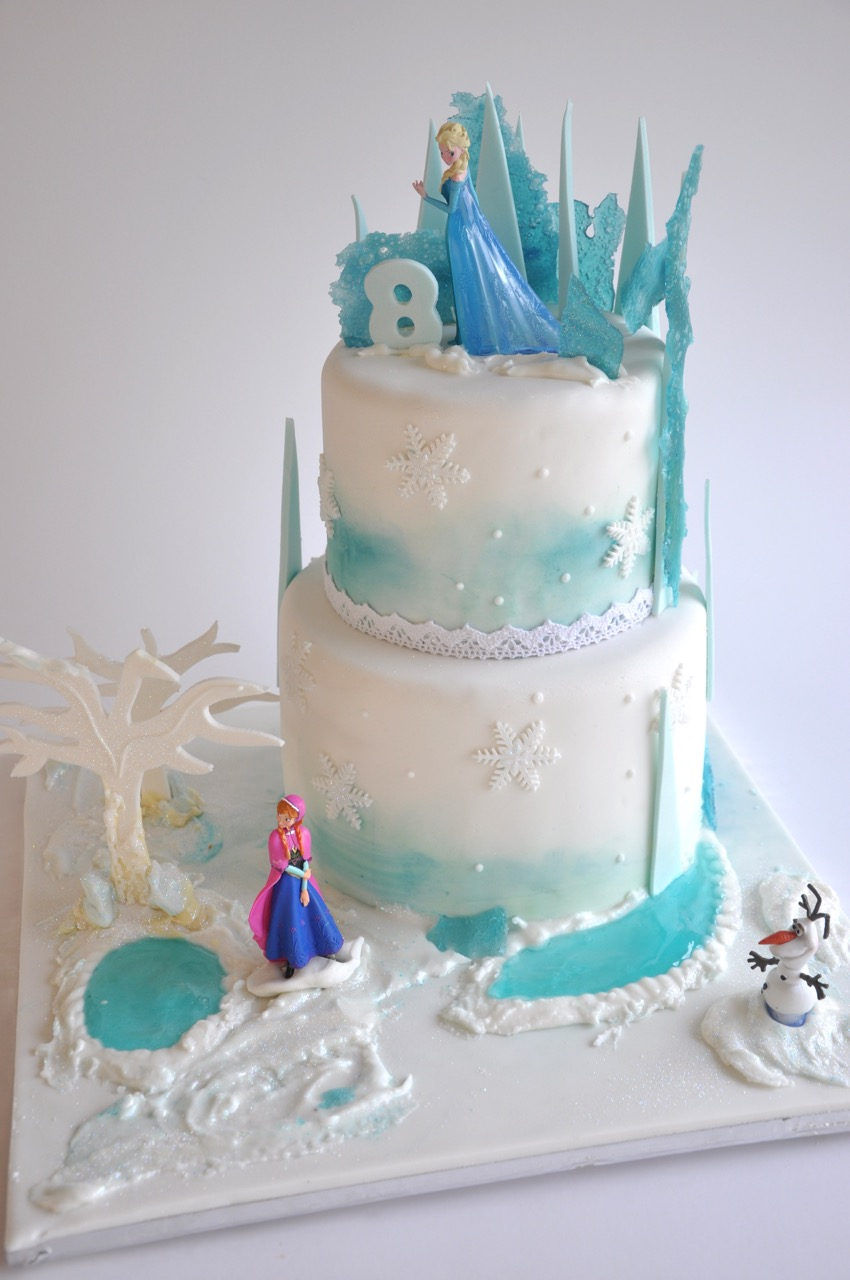 Frozen Themed Birthday Cakes Cape Town
