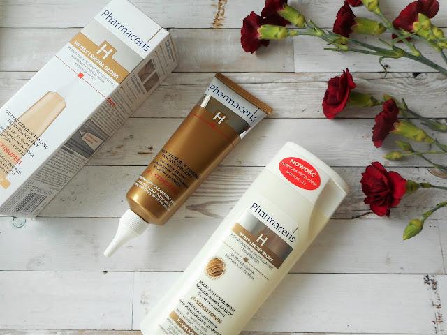 peeling skóry głowy szampon micelarny