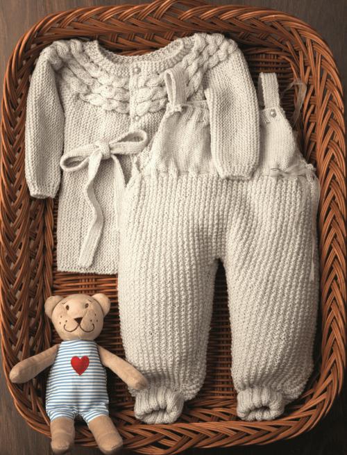 MerinoLand Onesie & Coat - Free Knitting Pattern