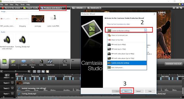 Cara Mengatur Kualitas Video di Camtasia 8 Menjadi Higt Quality Dengan Mudah