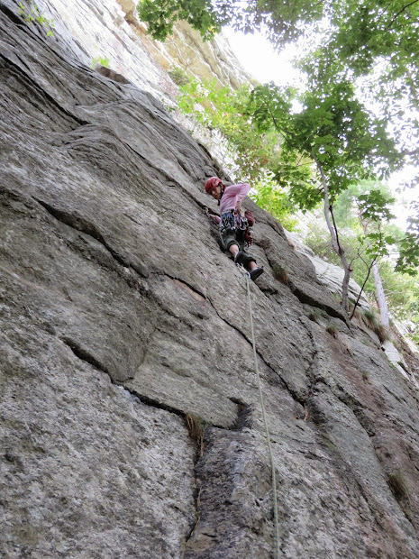 Climb And Punishment Gunks Routes Proctoscope 5.9