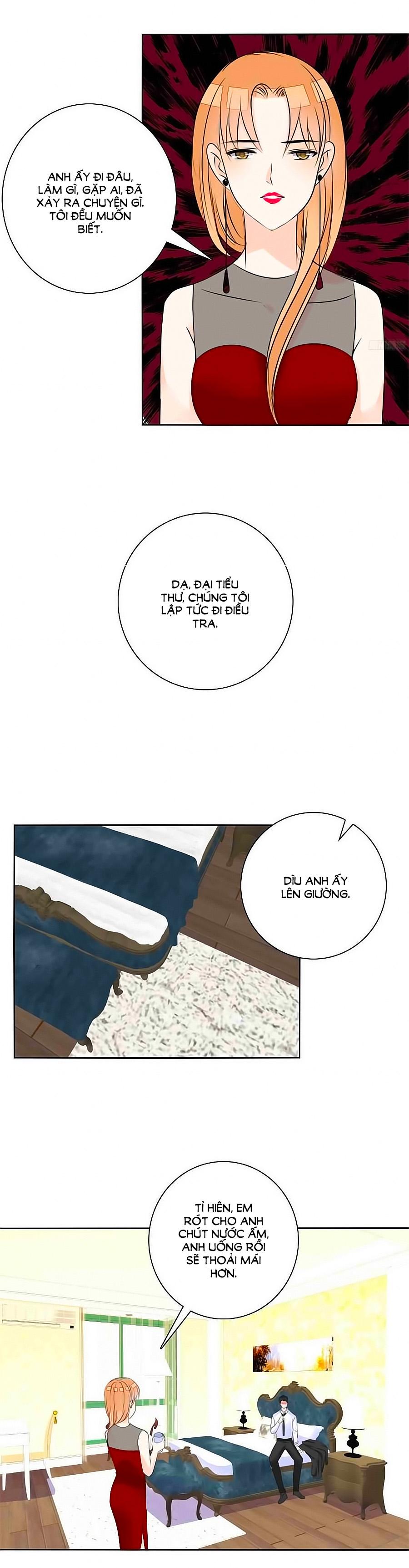 Công Chúa Nữ Vương Mệnh Chap 63 - Trang 8