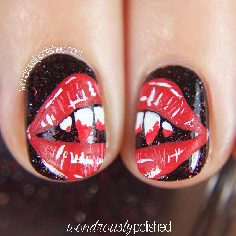 Vampire Nail Polish: Shimmer Polish: Bella