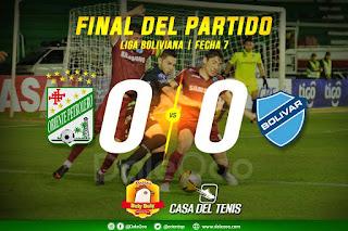 Oriente Petrolero 0 - Bolívar 0 - DaleOoo - Apertura 2018 - Pollos Buly Buly - Casa del Tenis