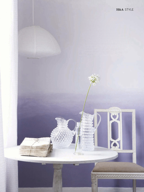 Luluanddrew ombre for the walls - Purple ombre wall ...