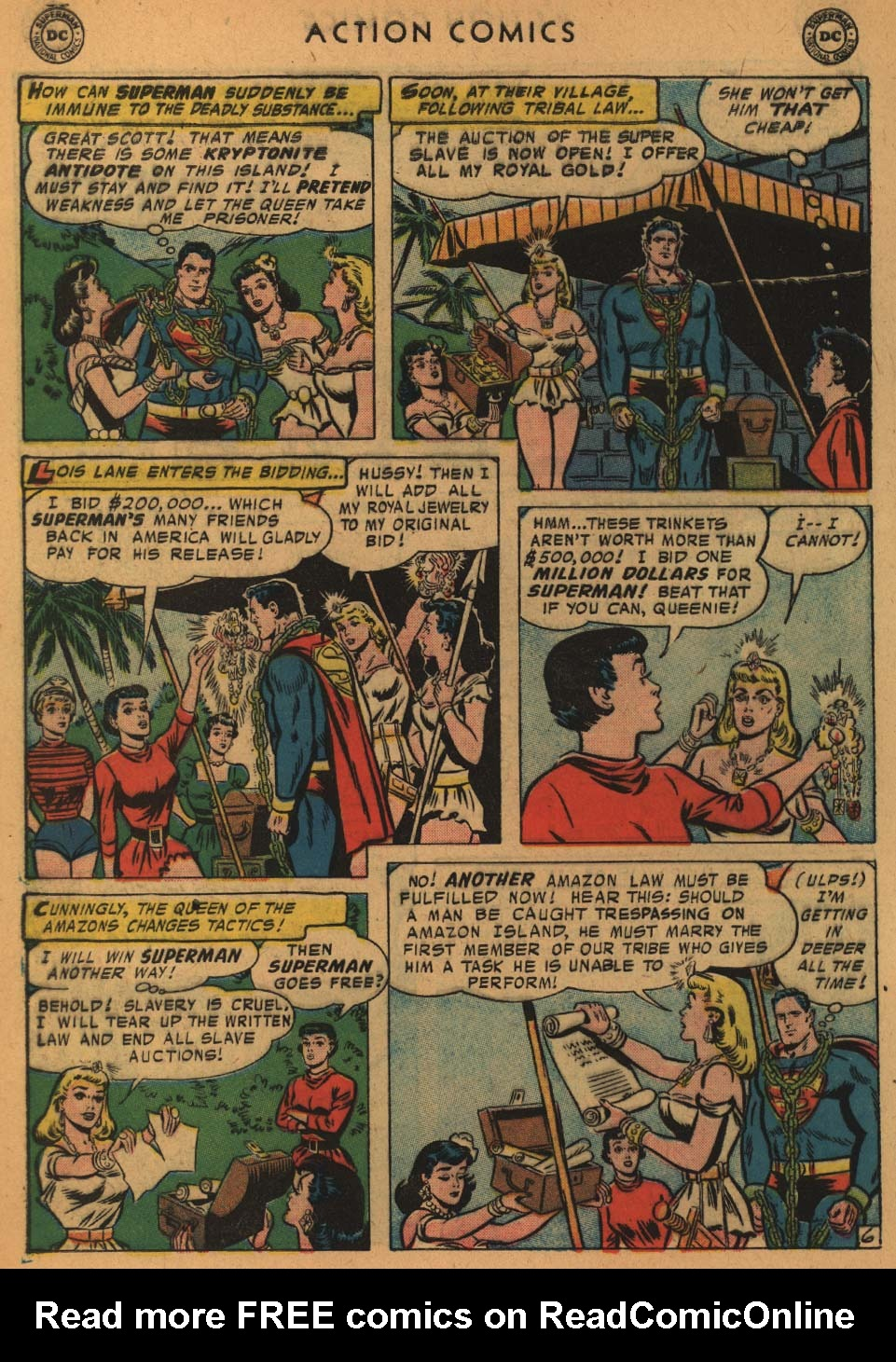 Read online Action Comics (1938) comic -  Issue #235 - 8
