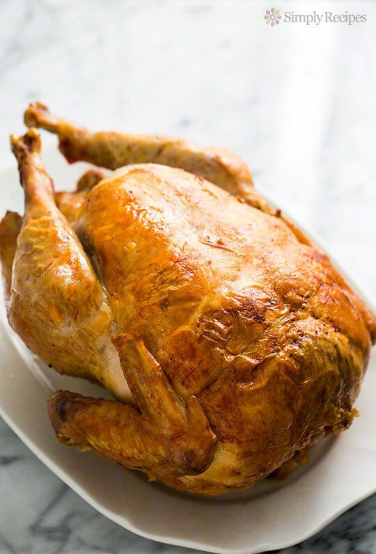 Thanksgiving Main Course Recipe: Mom's Roast Turkey by Simply Recipes
