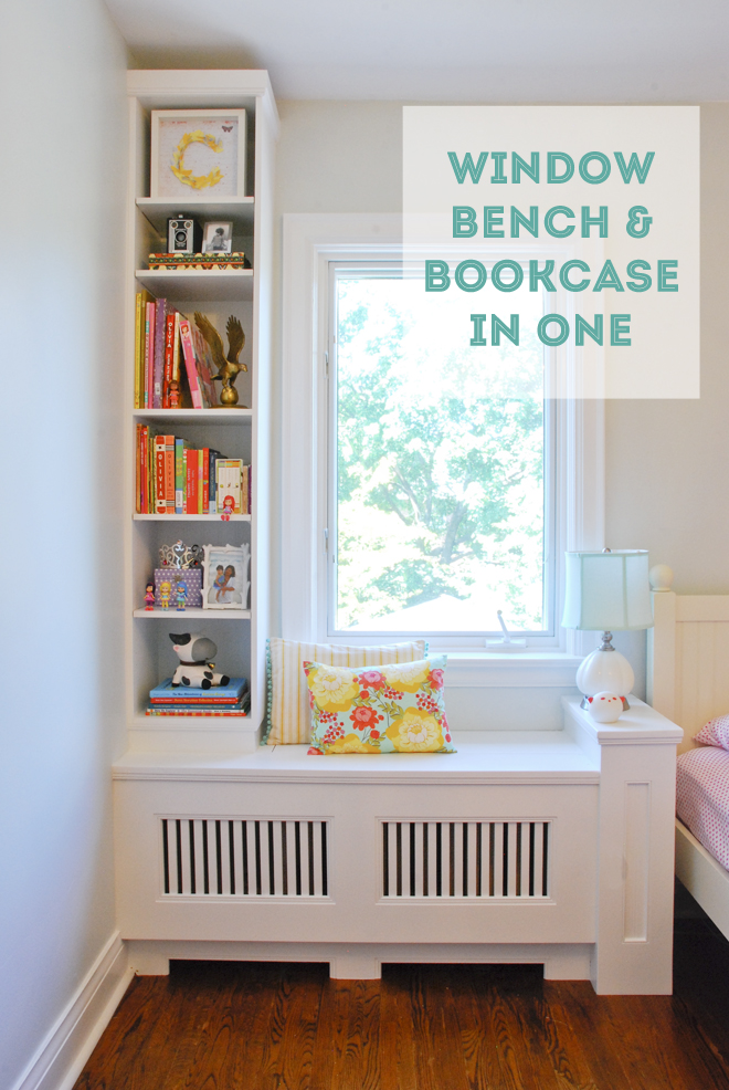 Window Bench Amp Bookcase In One Rambling Renovators